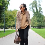 autumn look with TWIN-SET