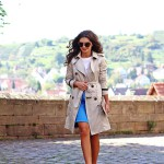 perfect trenchcoat look with Fay