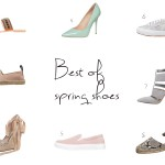 weekly shopping tips: best of spring shoes