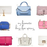 weekly shopping tips: my favorite bags for spring