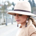 outfit: white & camel