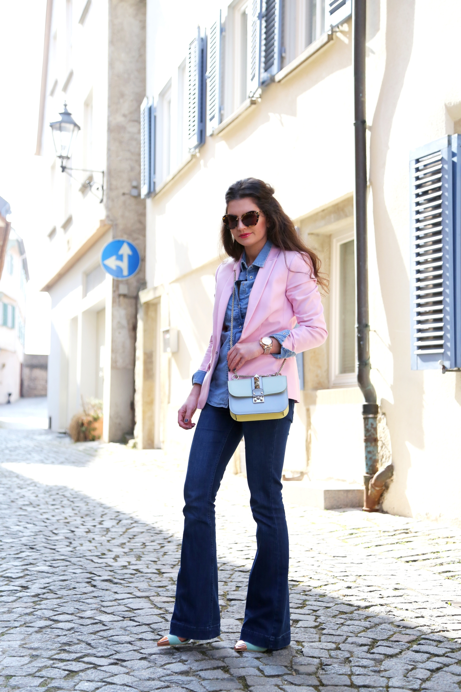 outfit-flared-jeans-total-denim-look-fashionhippieloves