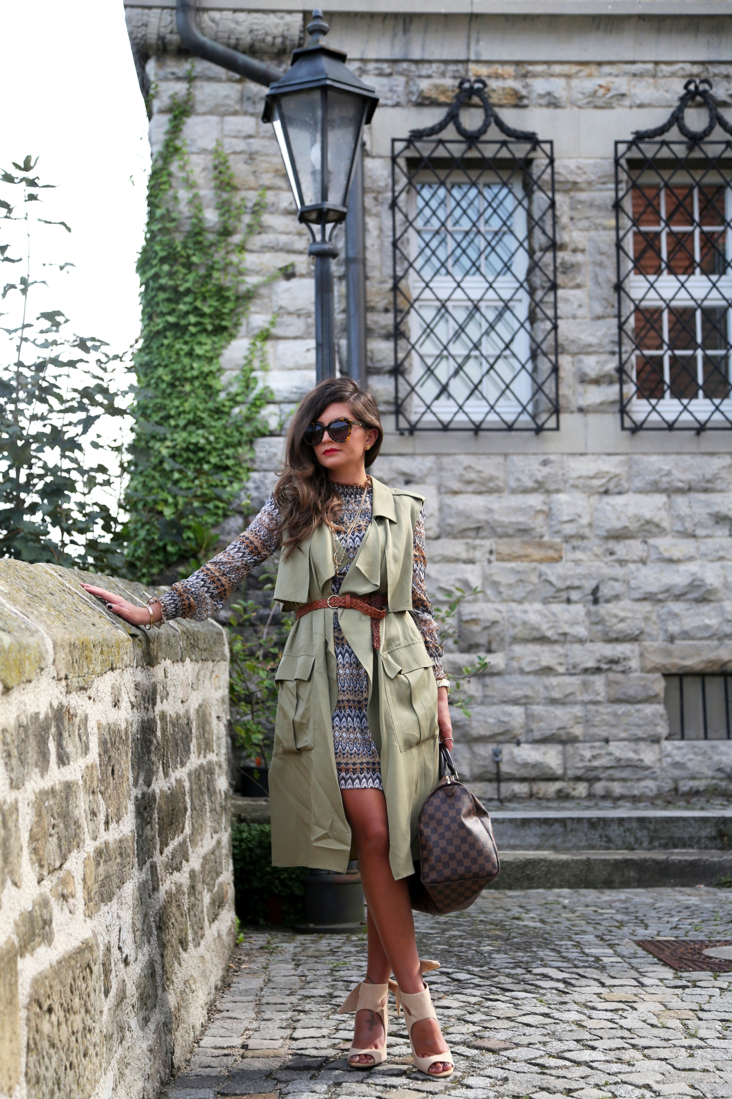 edited-outfit-fashionhippieloves-khaki-vest-glamorous-dress