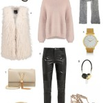 how to style a leather pants