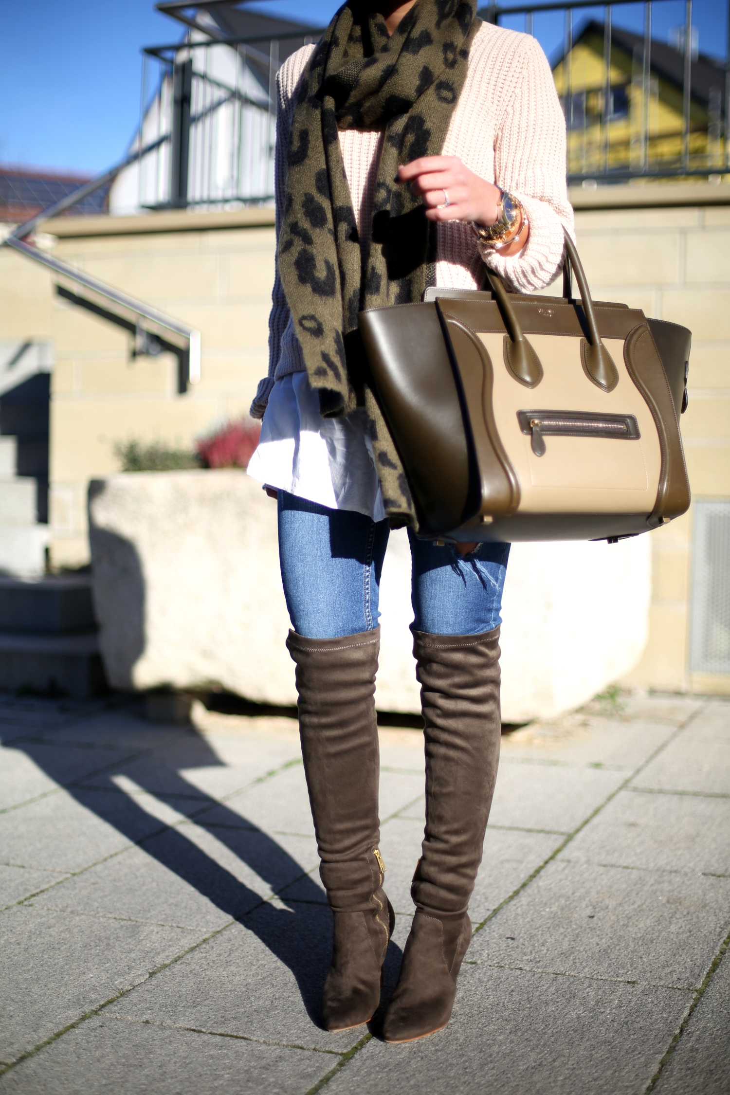 outfit-fashionhippieloves-celine-bag-maison-scotch-scarf-overknee-boots