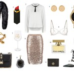 outfit inspiration for Christmas or New Year's Eve