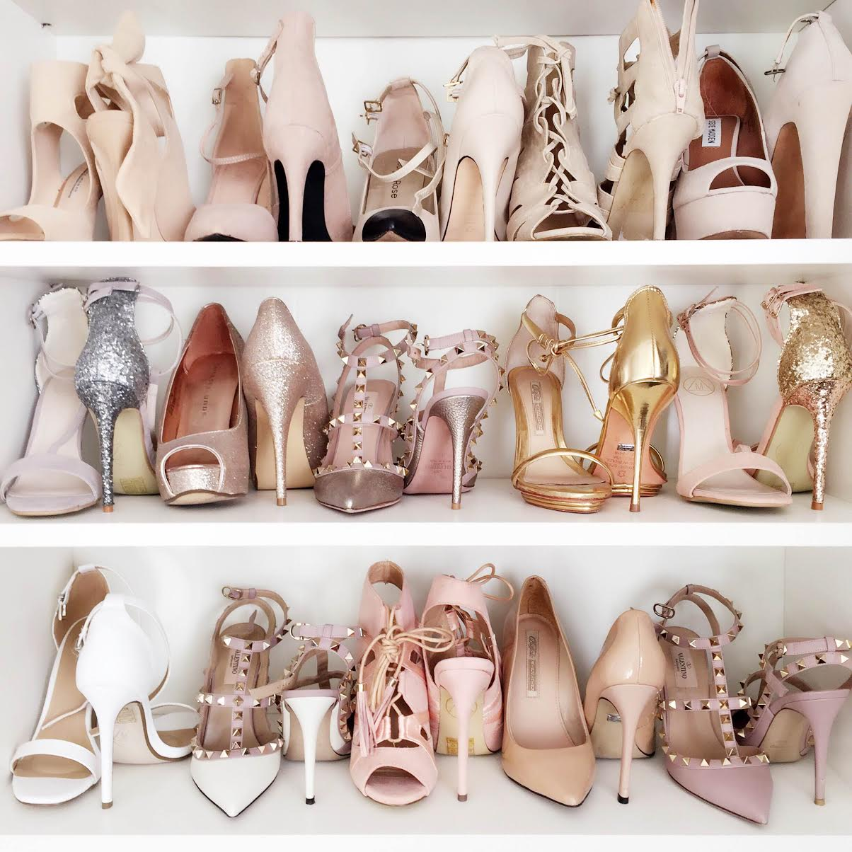 fashionhippieloves-shoe-closet-nude-pastels