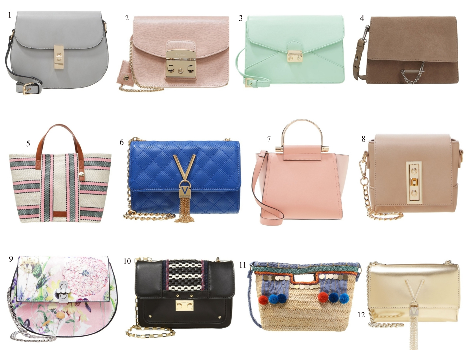 my favorite bags for spring/summer 2016