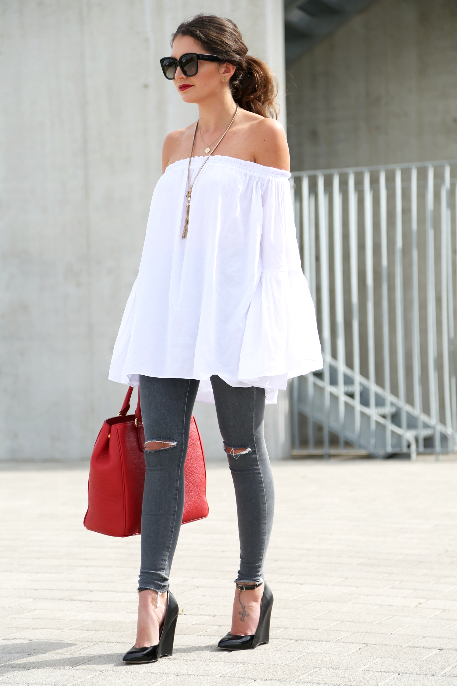 Off Shoulder Top - FashionHippieLoves