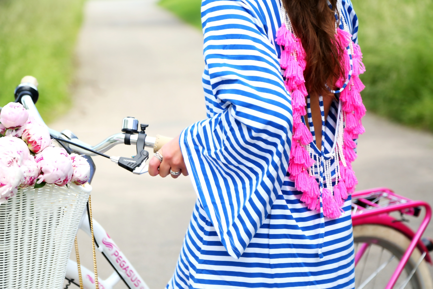 outfit-details-tassel-dress-stripes-bike-tour
