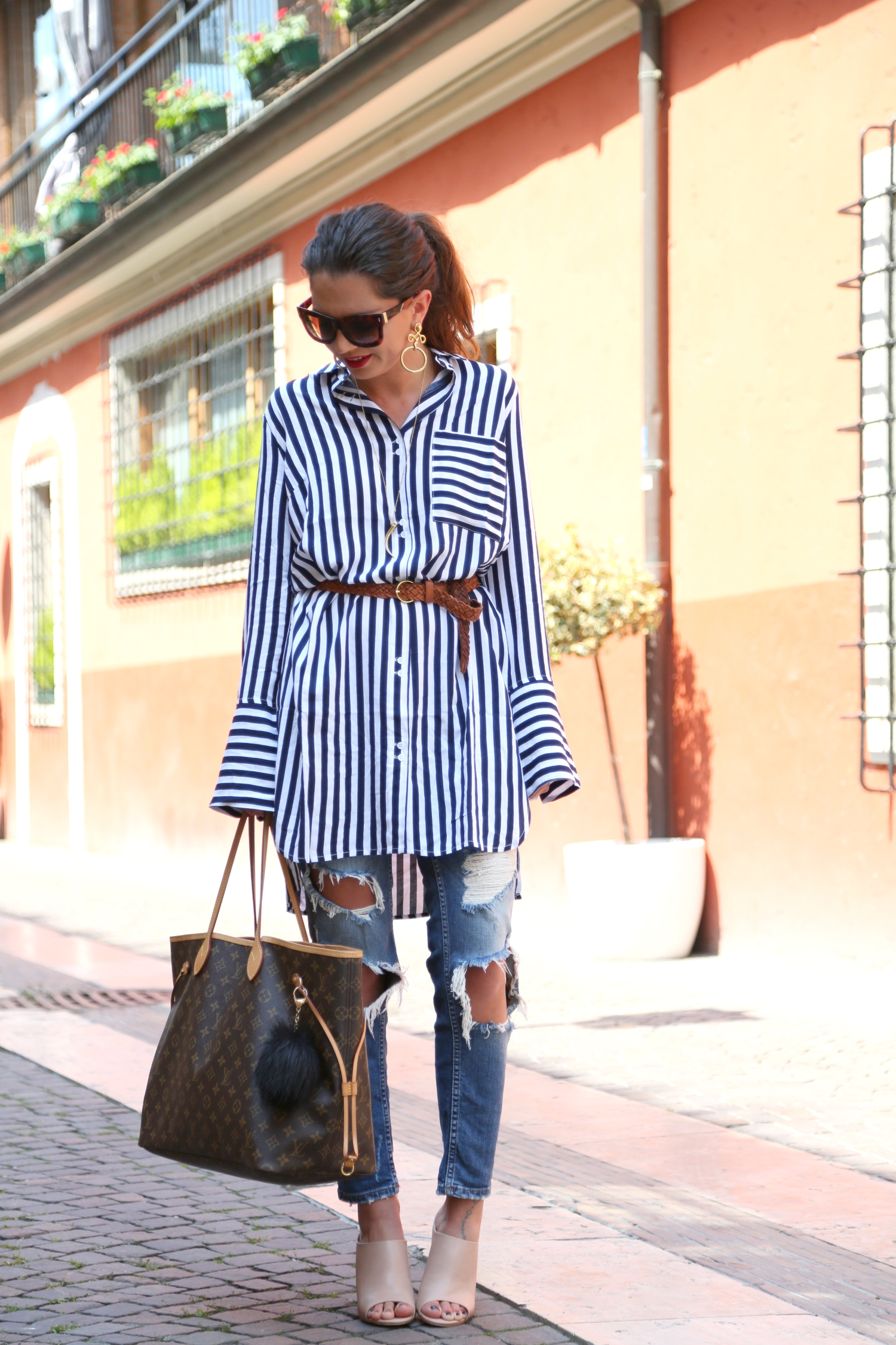 outfit-stripes-edited-blouse-lagodigarda