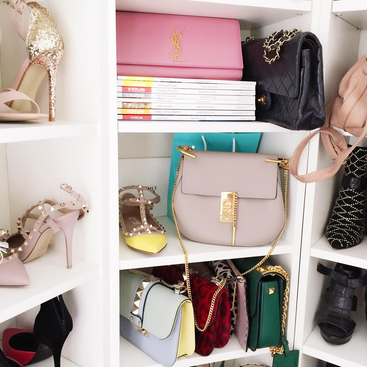 fashionhippieloves-closet-valentino-bag-rockstud-flats-chloe-drew-bag-shoe-closet-bags-walkincloset
