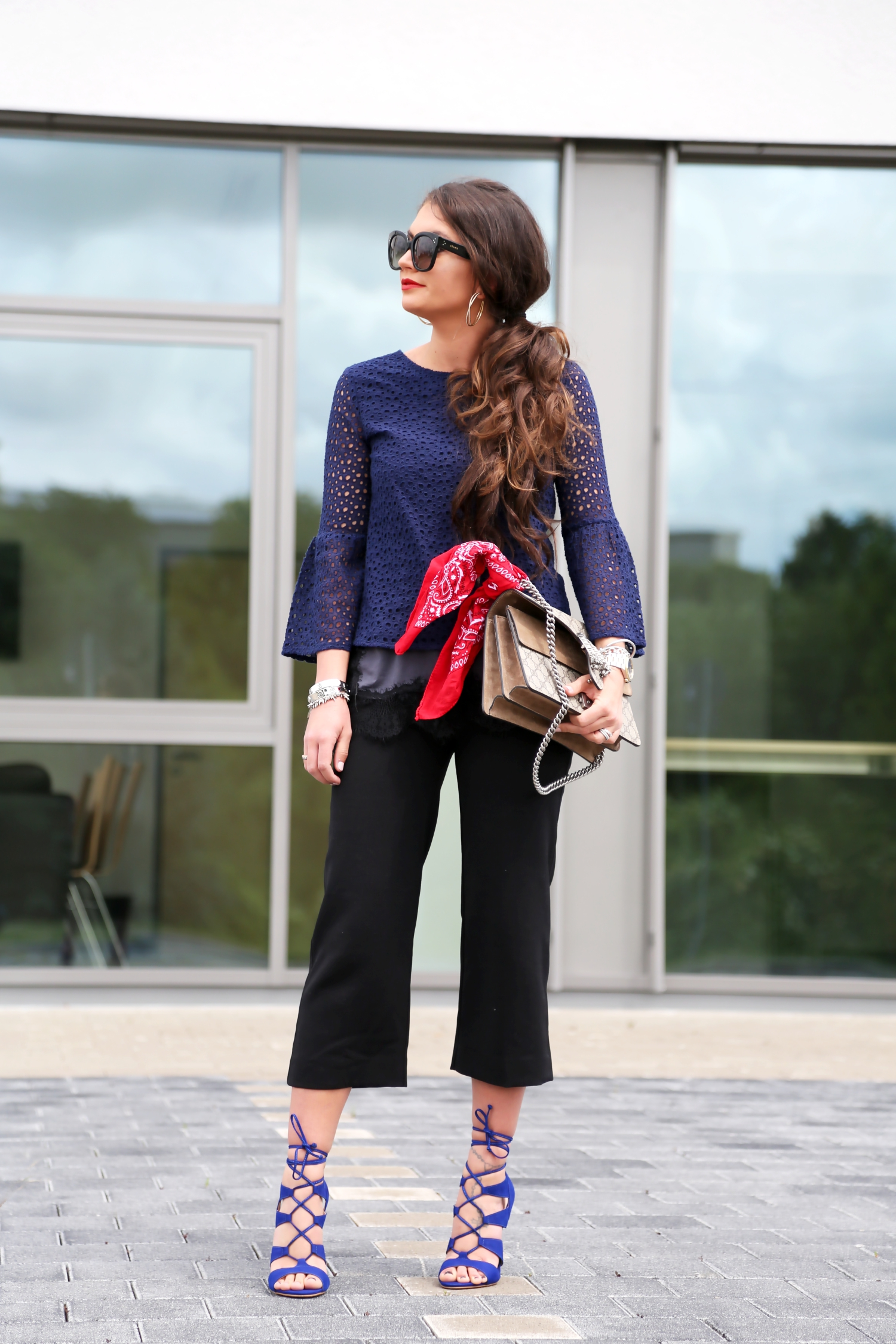 outfit-culottes-steve-madden-lace-up-sandals-gucci-dionysus-bag