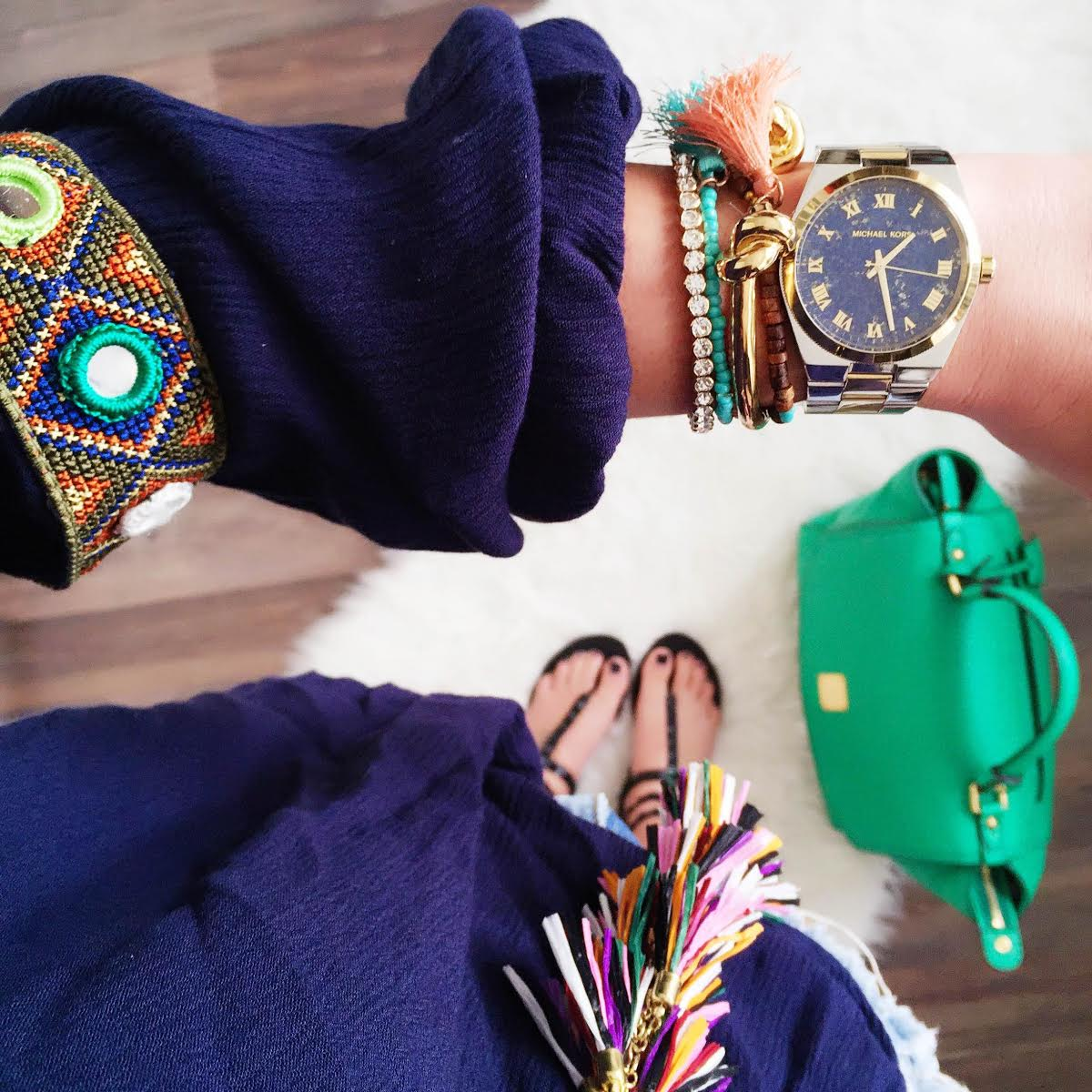 outfit-details-hippie-blouse-tassel-necklace-mcm-green-bag-ash-rockstud-sandals
