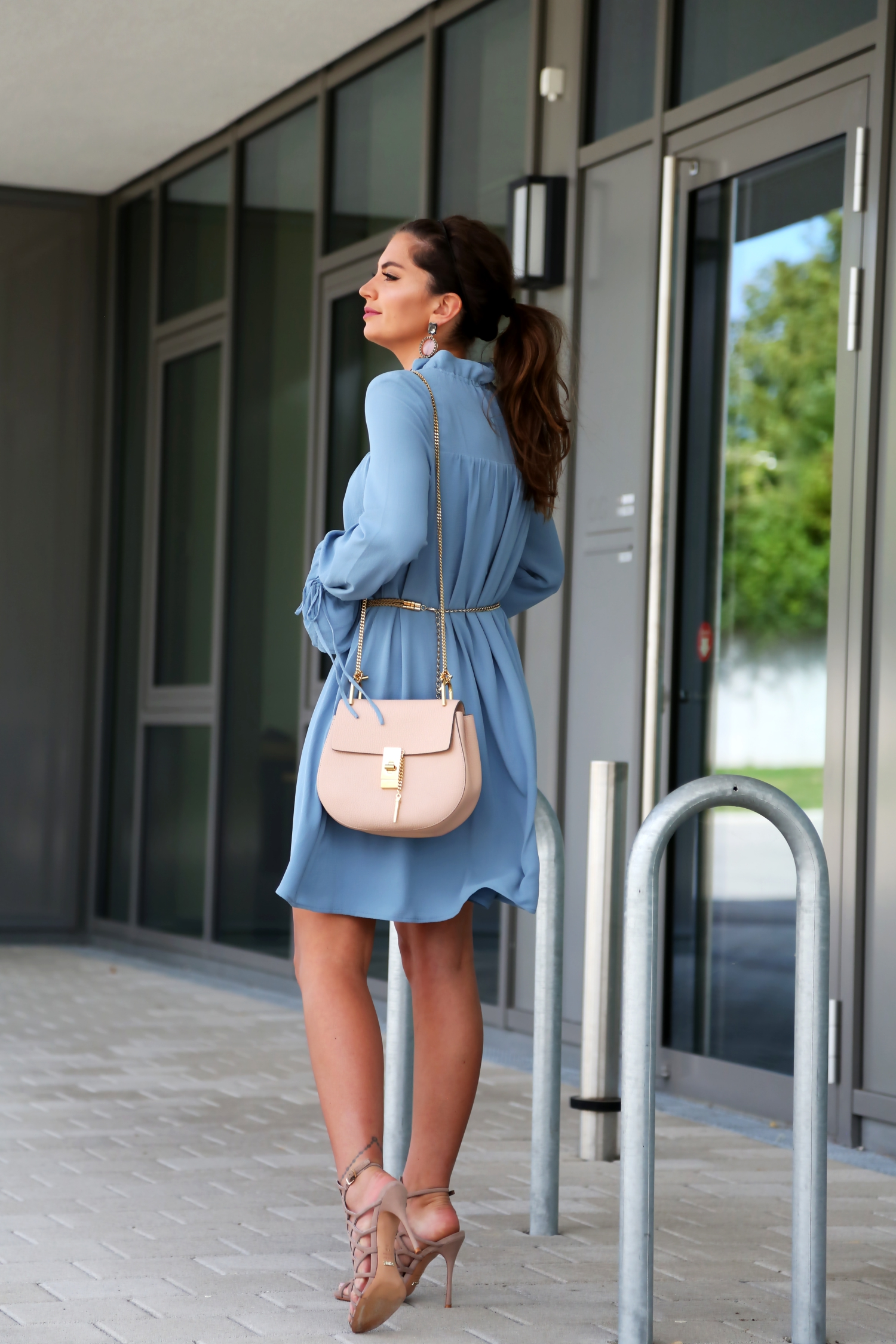 outfit-edited-label-dress-chloe-drew-bag