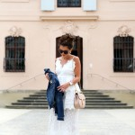 Selfportrait white maxi dress , Chloé Drew bag