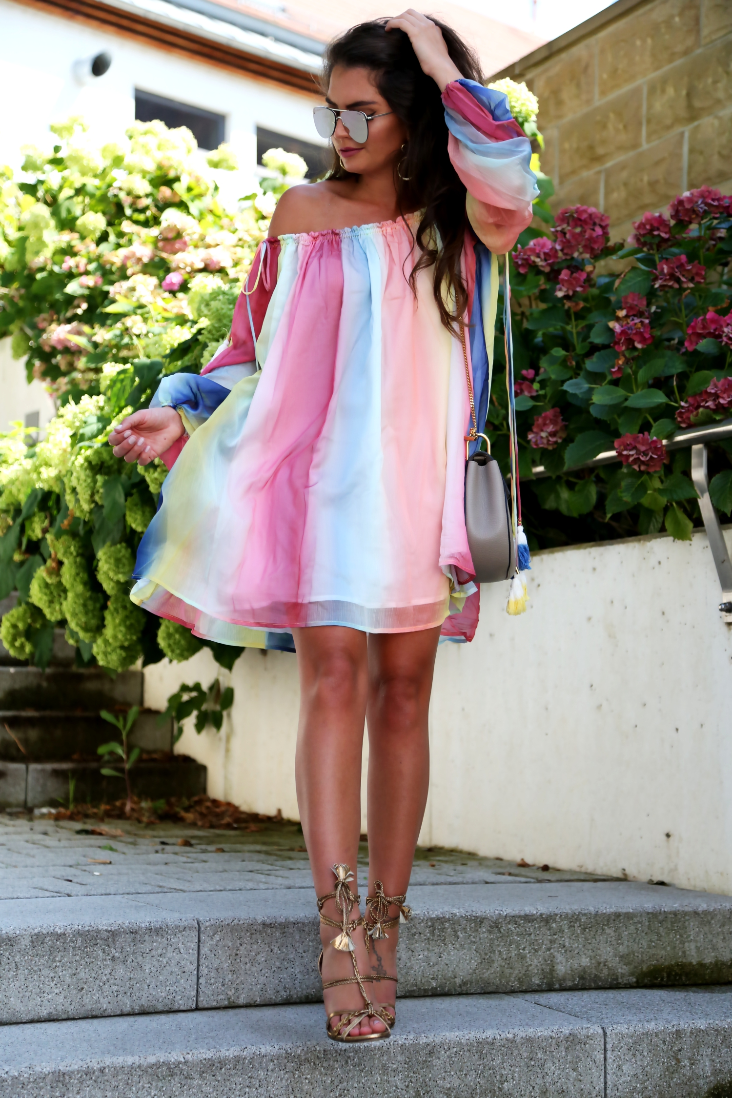 outfit-summer-look-dress-watercolor-chloe-drew-bag