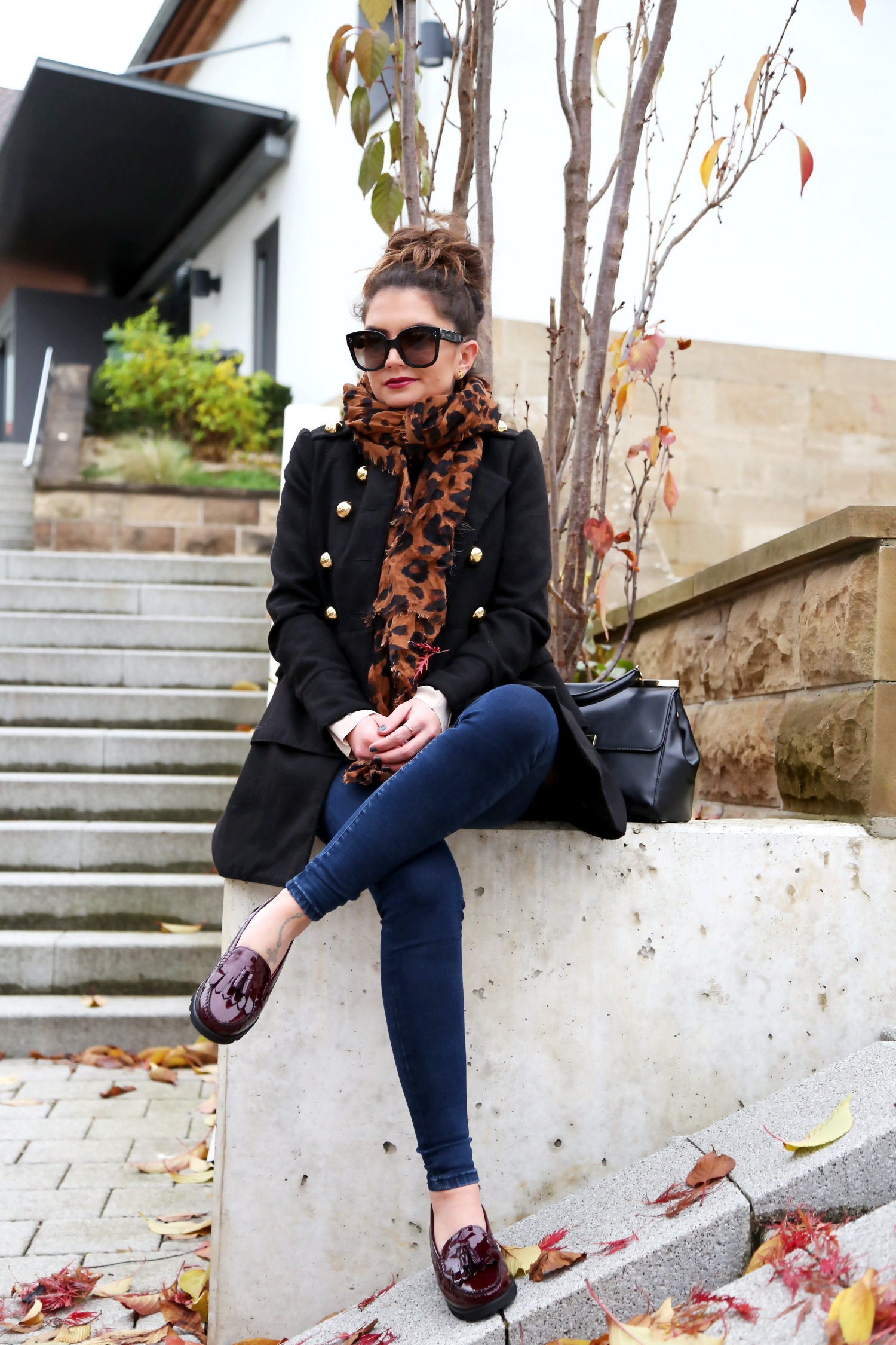 outfit-coat-sioux-loafers-michaelkors-bag