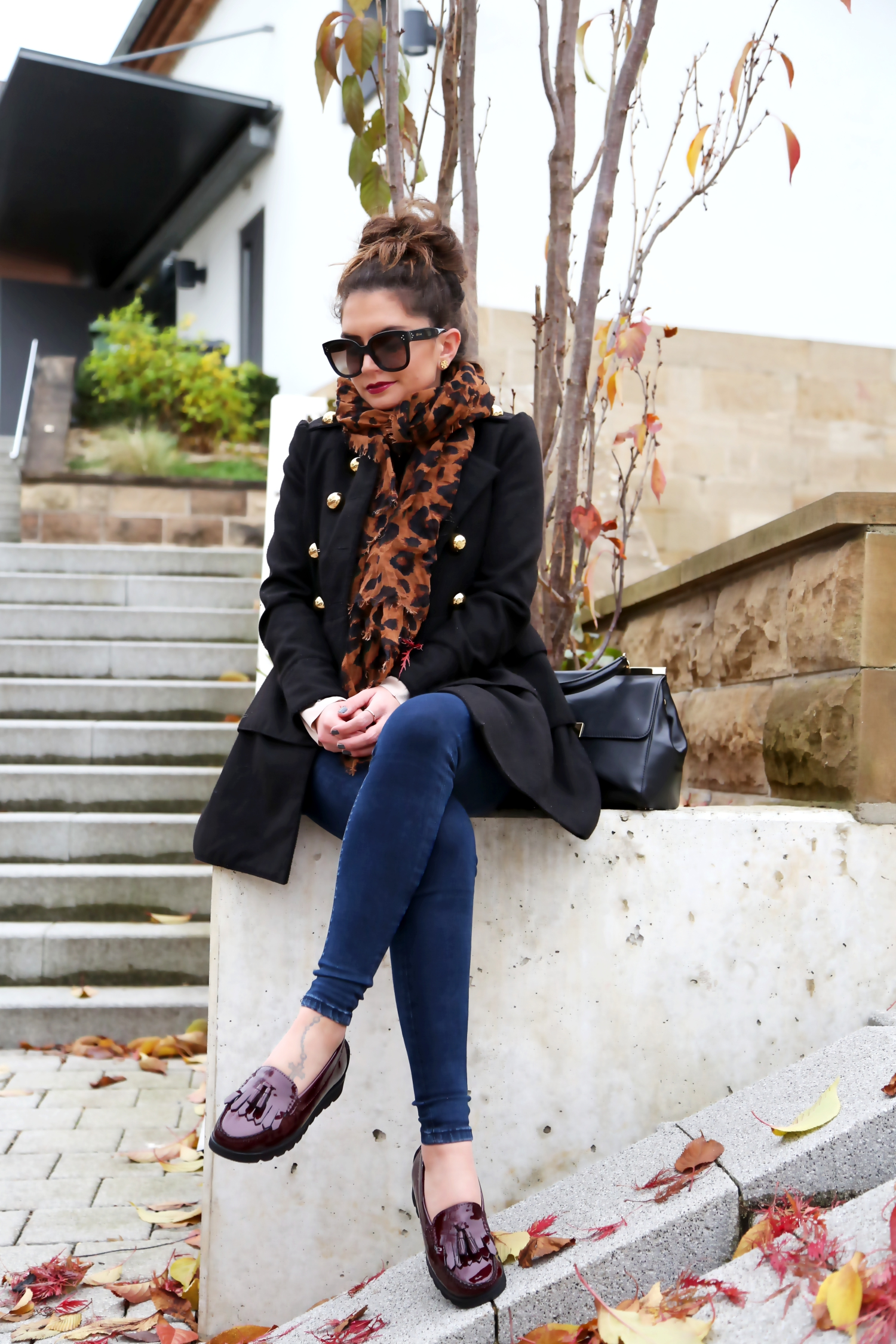 outfit-sioux-loafers-pepejeans-military-coat