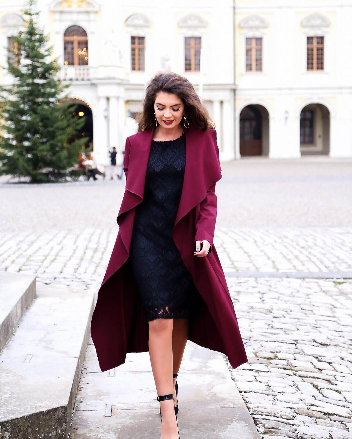 outfit-ana-alcazar-dress-coat-winter-look