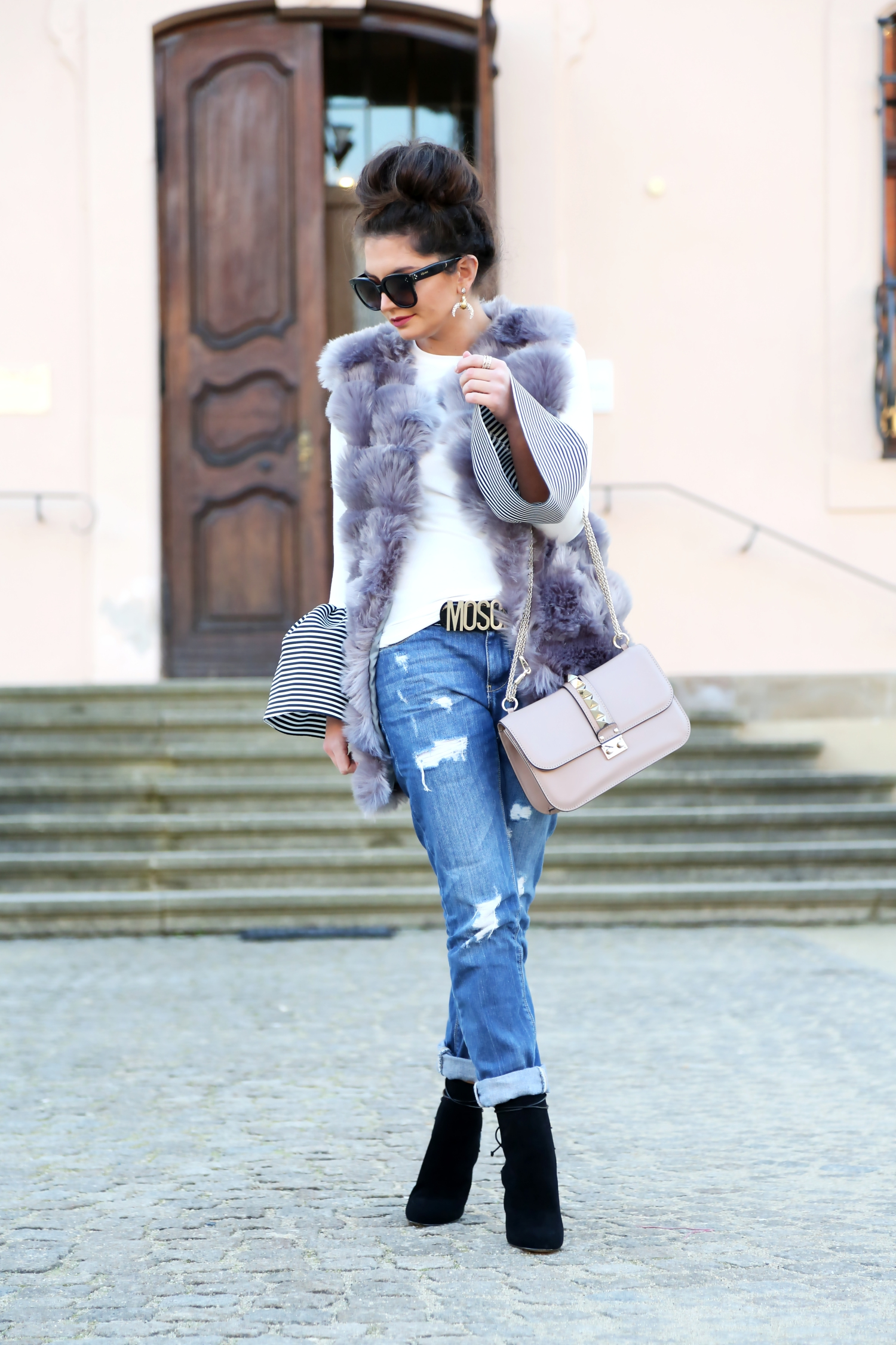outfit-winter-look-glam-lock-bag-valentino-aldo-booties