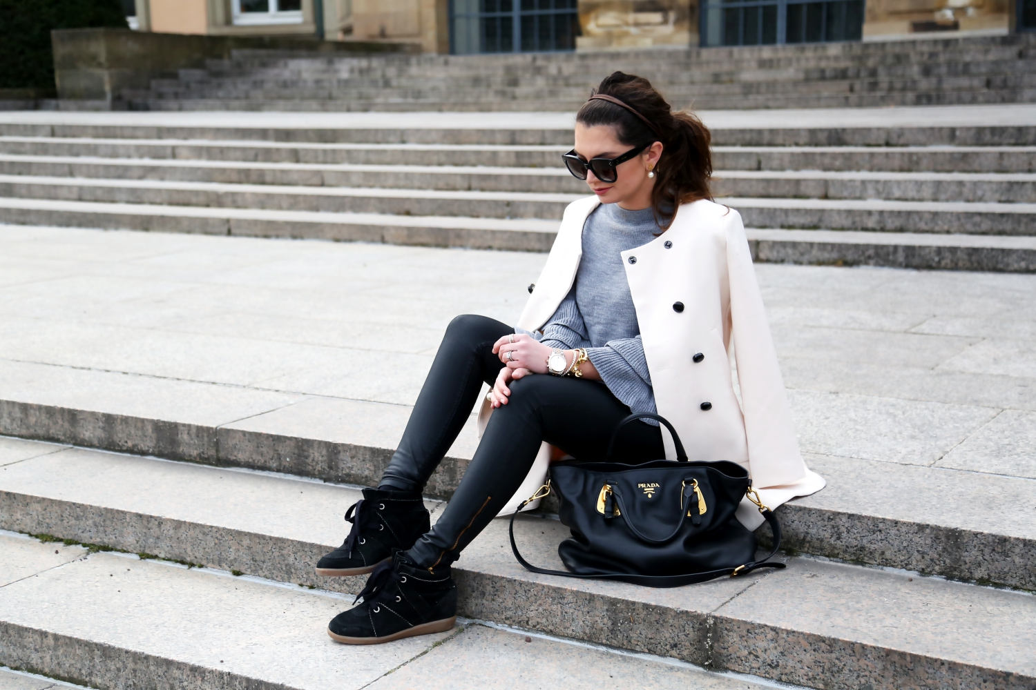 isabel marant sneakers outfit