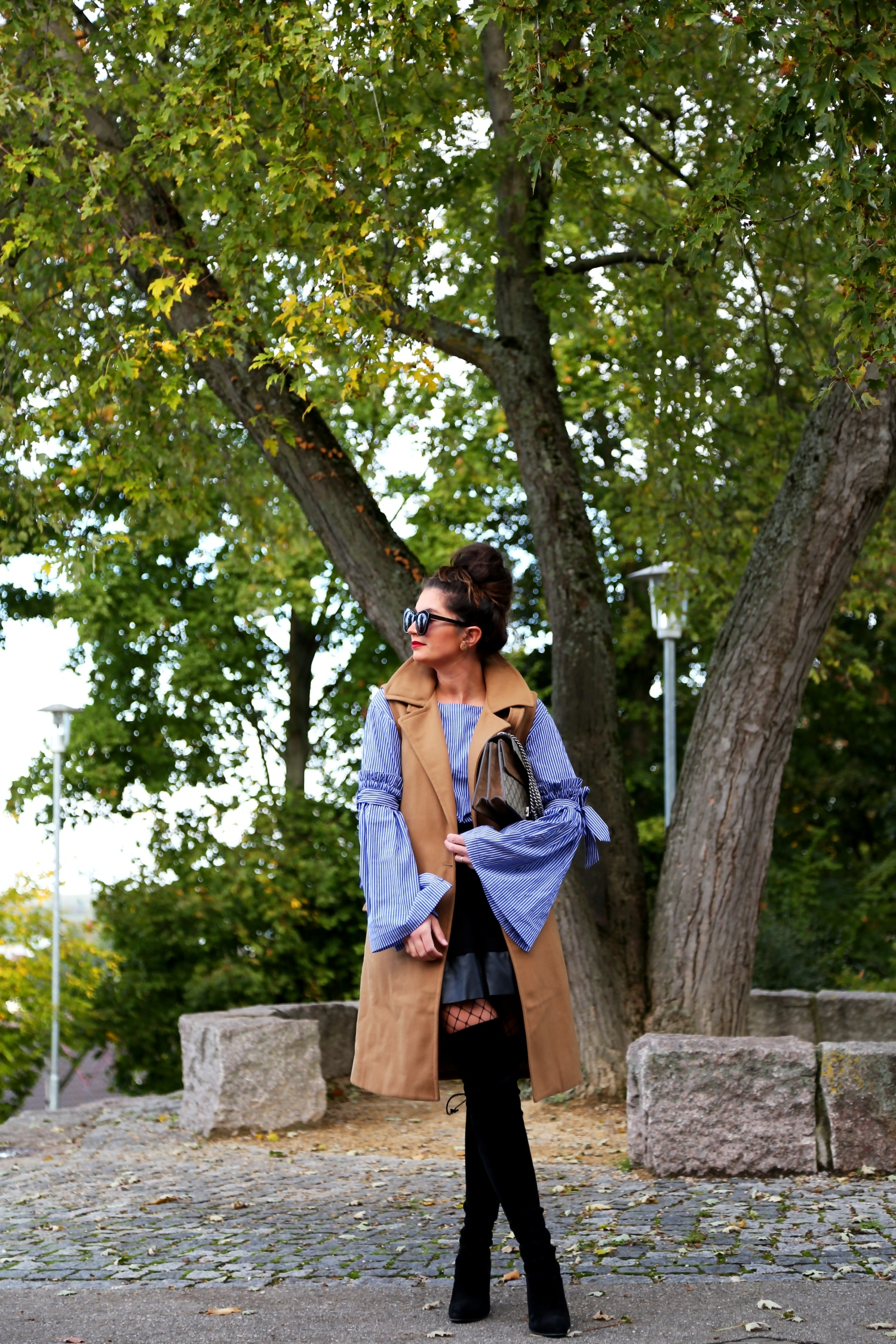 Autumn Look Recipe: Jeans and Leather